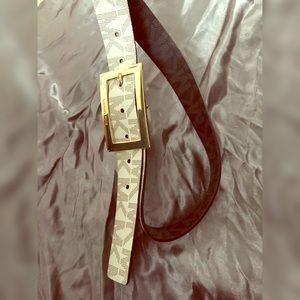 Authentic Michael Kors Reversible Belt, NEW L
